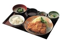 とんかつ定食(ソース・ポン酢)