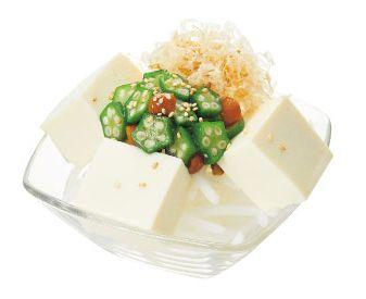 和風豆腐サラダ