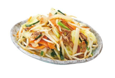 たっぷり野菜の野菜炒め