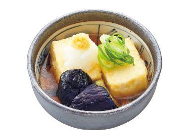 揚げ出し豆腐と茄子