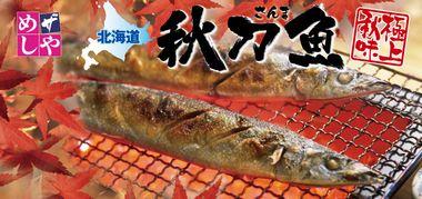 ザめしや/秋刀魚