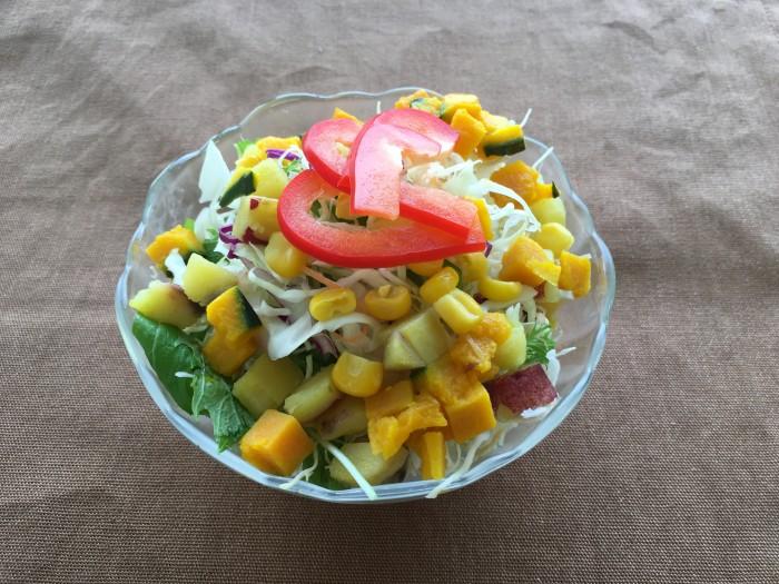 8種の野菜サラダ