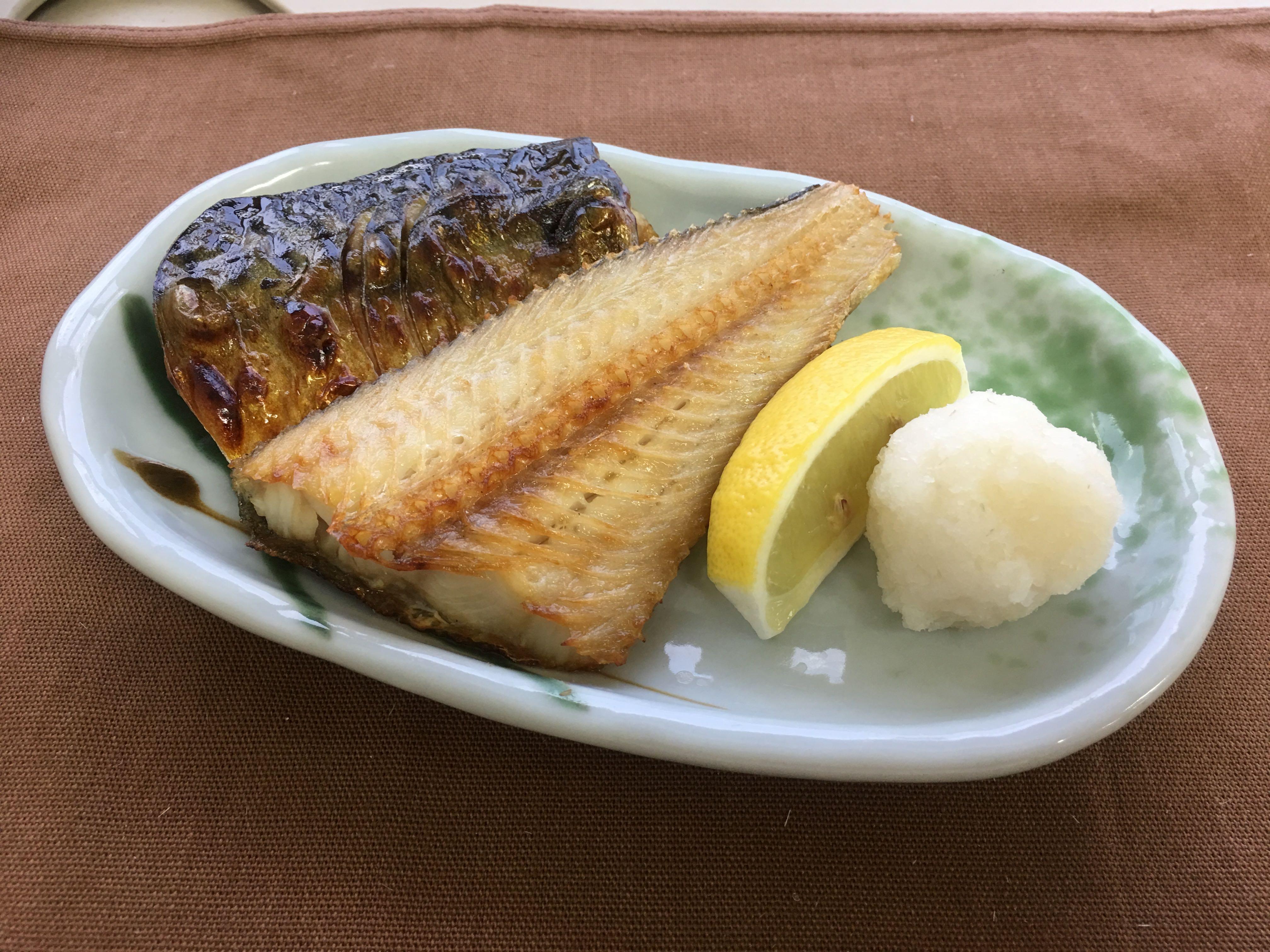 焼き魚盛り合わせ