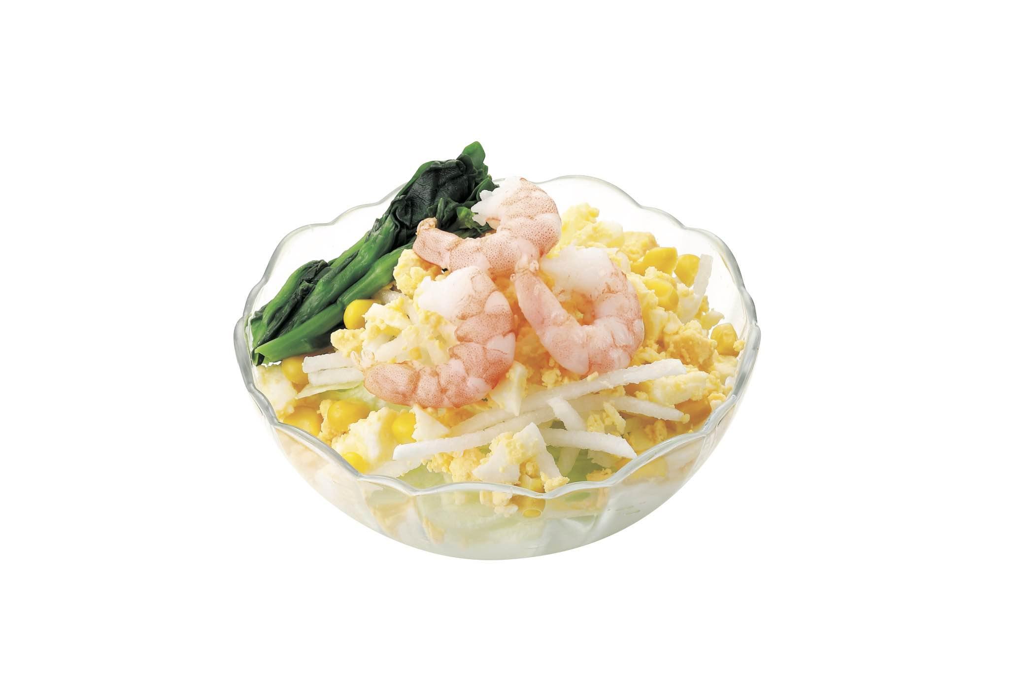 海老と玉子のサラダ