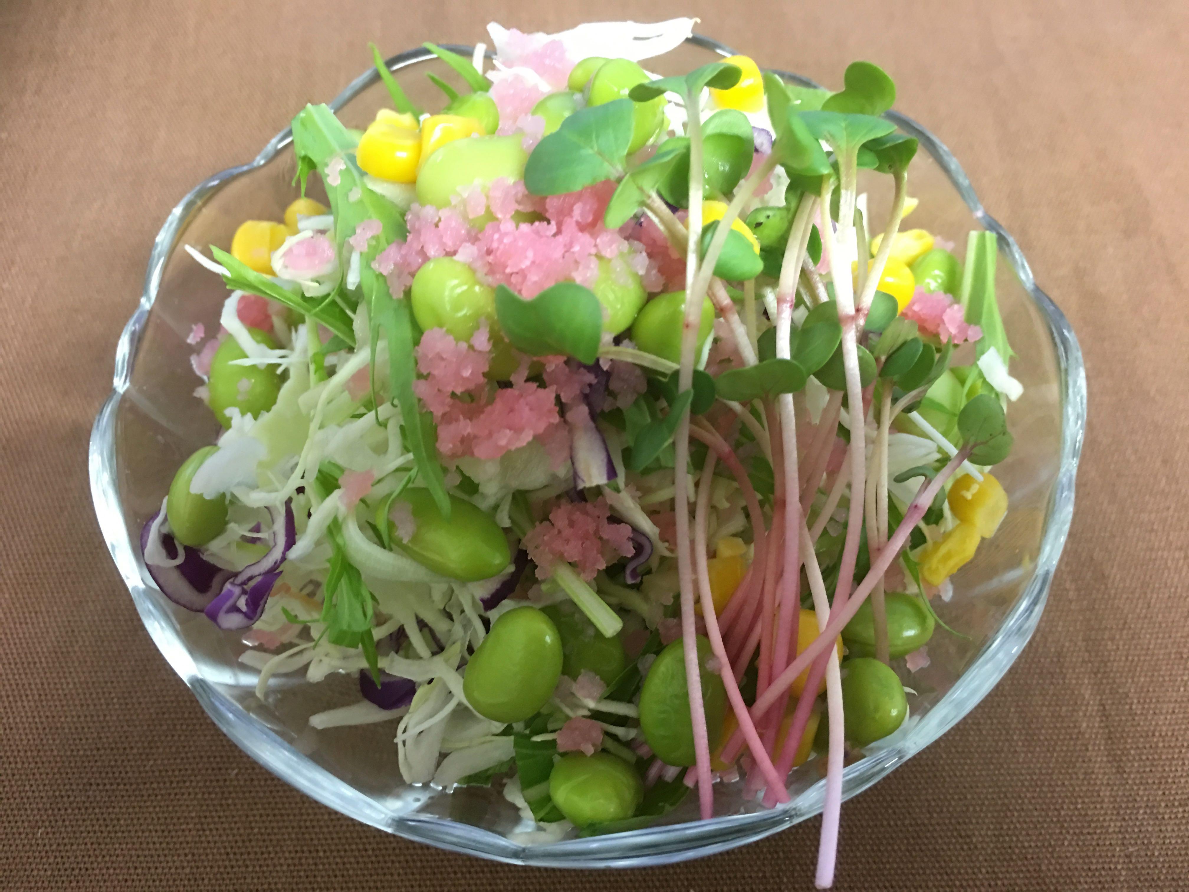 8品目の春爛漫サラダ