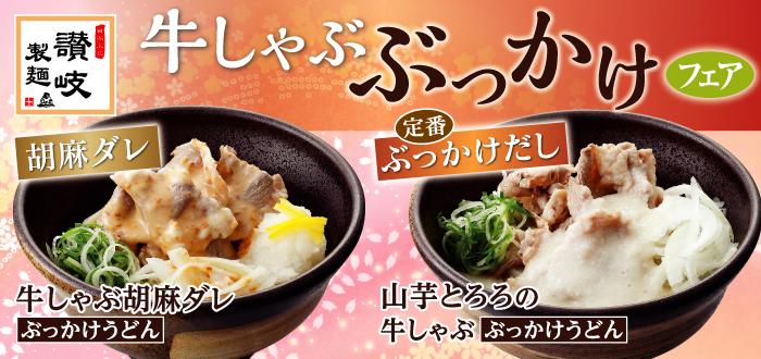 讃岐製麺|牛しゃぶぶっかけ