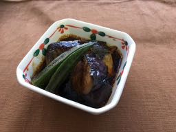 mini季節野菜とさば煮