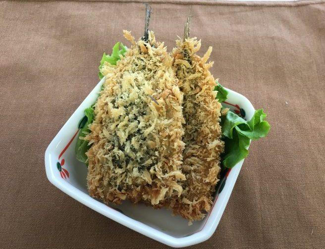 mini手作りお魚フライ(北海道産いわし)