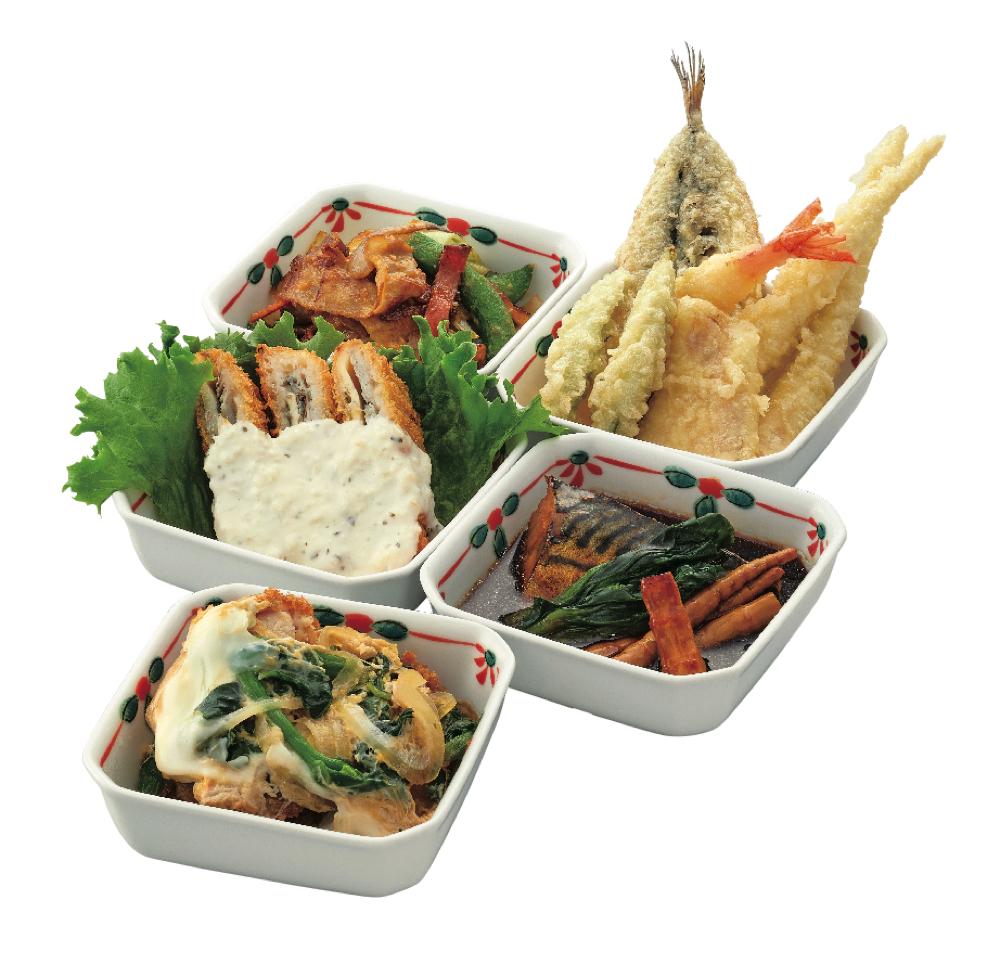 mini惣菜各種