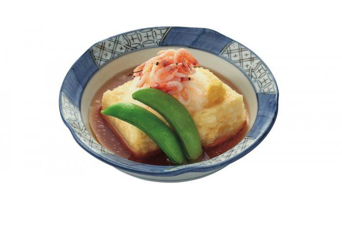 桜海老の揚げ出し豆腐