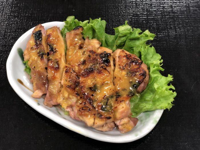 鶏もも炙り西京焼き