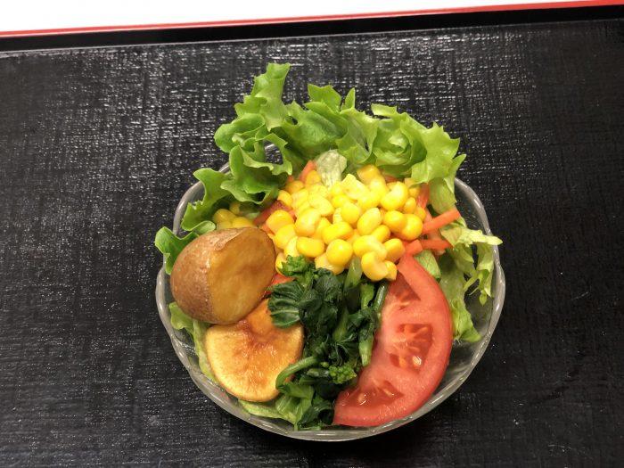 彩り野菜のにぎわいサラダ