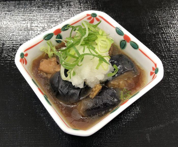 mini茄子鶏ぽん酢煮