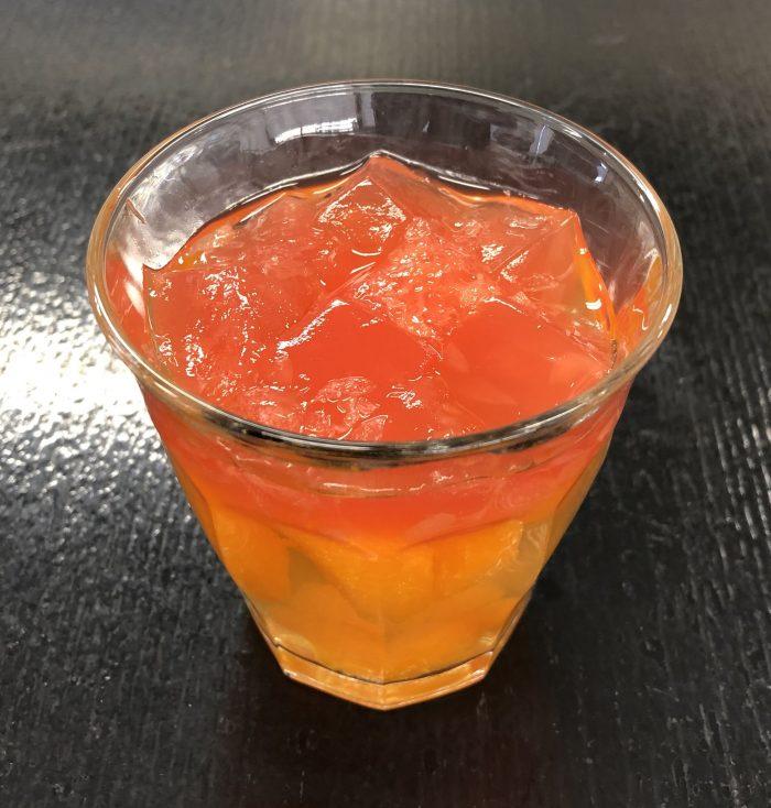 柑橘ゼリー