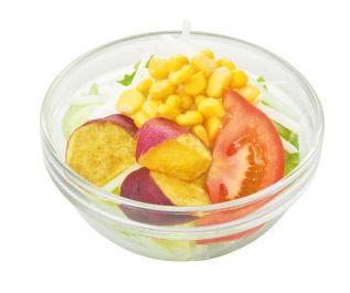 さつま芋とトマトのサラダ